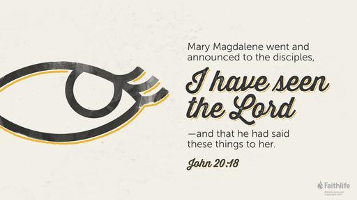 John 20:1-18