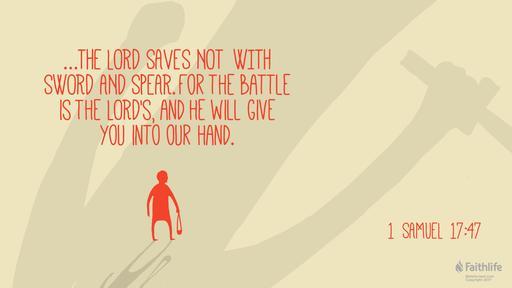 1 Samuel 17:1a(4-11,19-23), 32-49